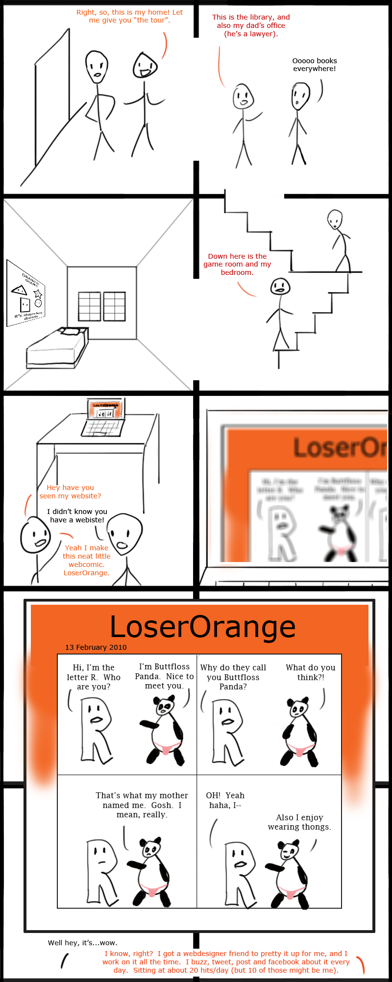 wb high 2: LoserOrange